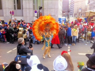 Rosenmontag Köln 2013 - Südamerikanisches Flair