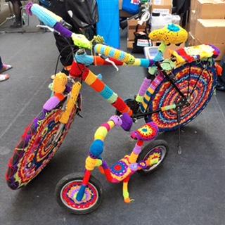 Maker Faire Berlin Gehäkeltes