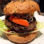 Pumkin Beef Burger
