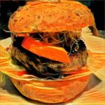 Punkin Beef Burger  mit Filter