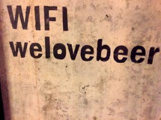 Wifi Brewdog Berlin Mitte