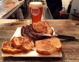 Fränkische Bratwurst und Belgian Winter